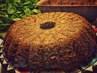 Lentil Loaf with High Protein