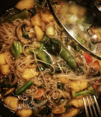 Heart Healthy Veggies & Rice Noodles