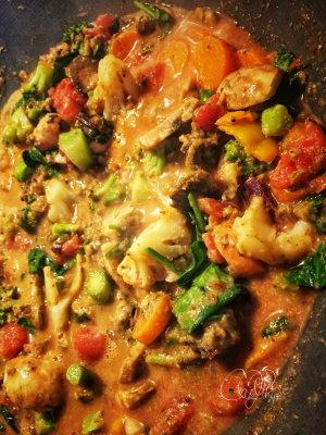 Stir-Fry 'Lasagna'