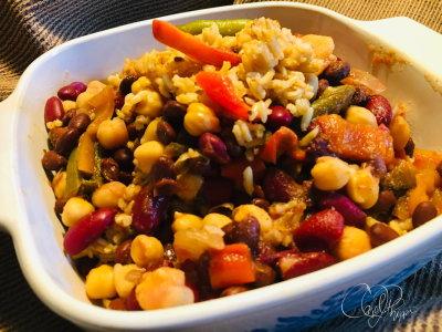 Beans & Rice with Veggies