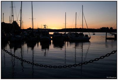 Sunset Over Victoria...