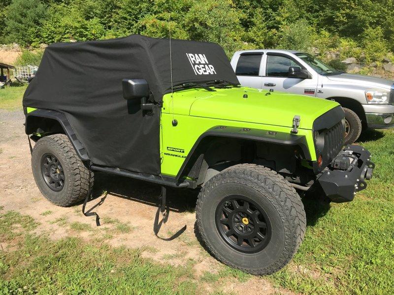 Going Topless/Doorless: JKU Cab Covers? - Jeep Wrangler Forum