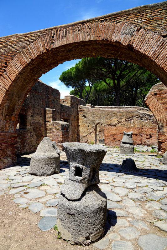 Roman Mills in Ostia