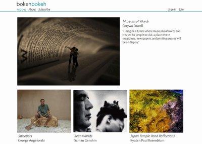 Bokeh Bokeh Magazine