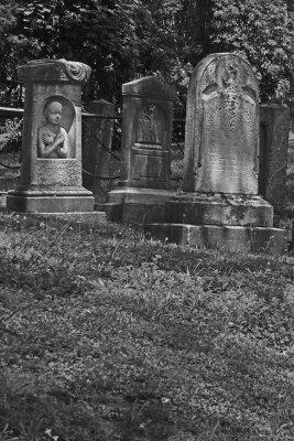 A child in stone, Sleepy Hollow Cemetery, Tarrytown, New York, 2019