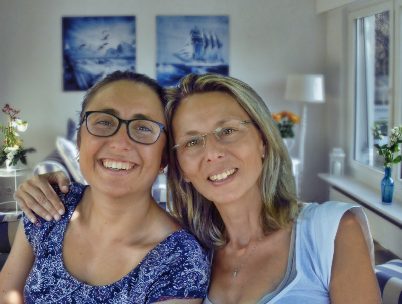 Daughter and mother...