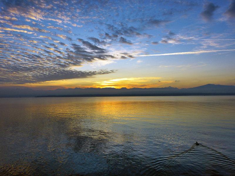 A delicate sunrise...