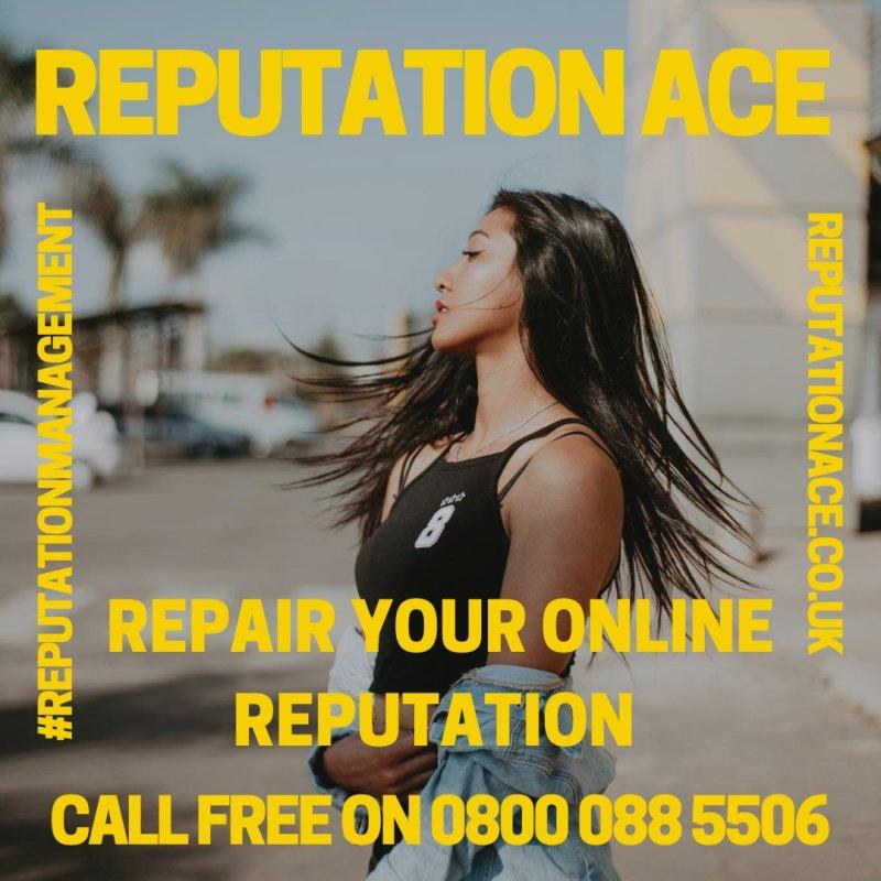 Reputation Management Company - Reputation Ace - 0800 088 5506 - Online Reputation Management Services UK