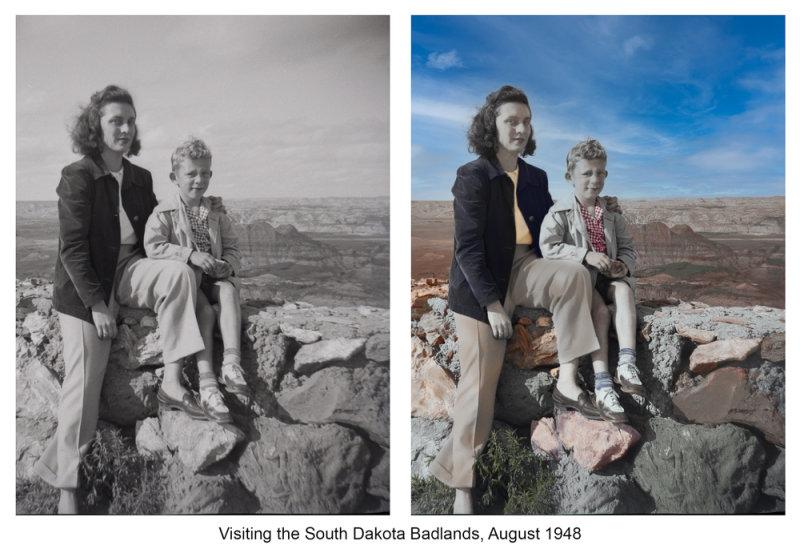 Badlands 1948