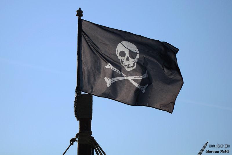 Black flag / Drapeau Noir