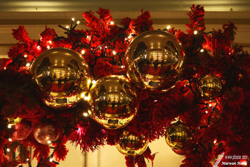 Red & Gold Christmas / Noël Rouge & Or
