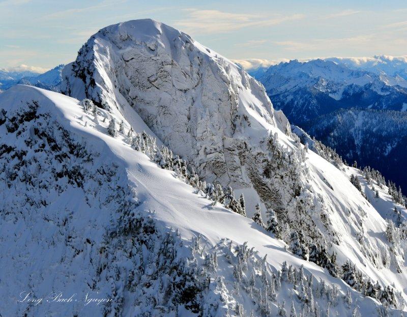 Liberty Mountain in Cascade Mountains, Washington 179c