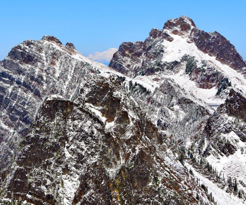 Gothic Peak, Foggy Lake, Mt Baker, Del Campo Peak, Cascade Mountains, Washington 169