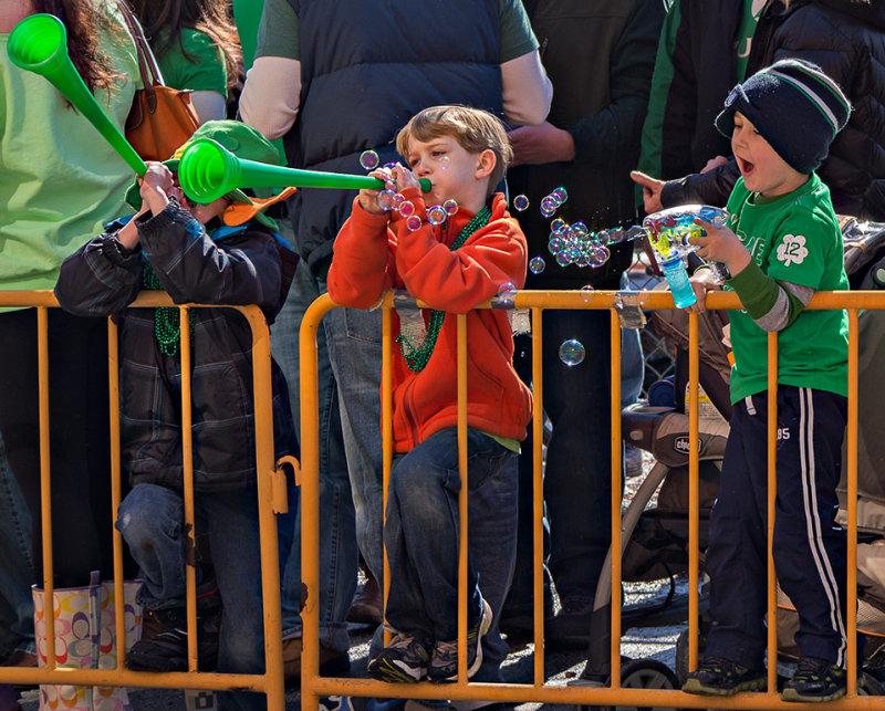 Kids love a parade.