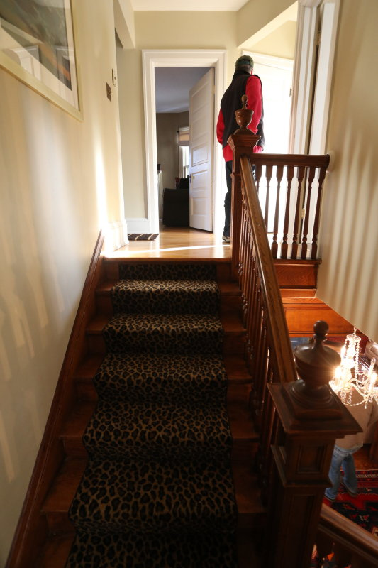 main stairs from second landing