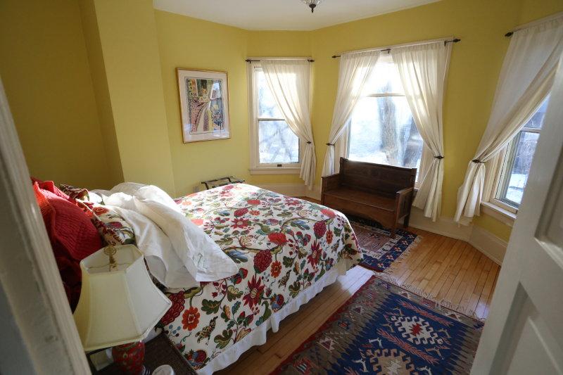 2nd floor main bedroom facing street - west