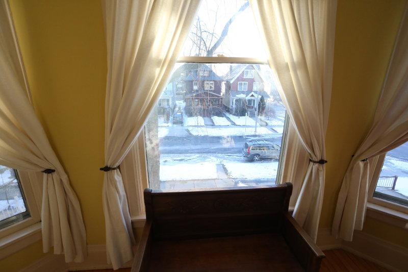 2nd floor main bedroom window to street