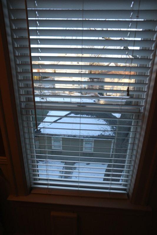 third floor master bath window looking east