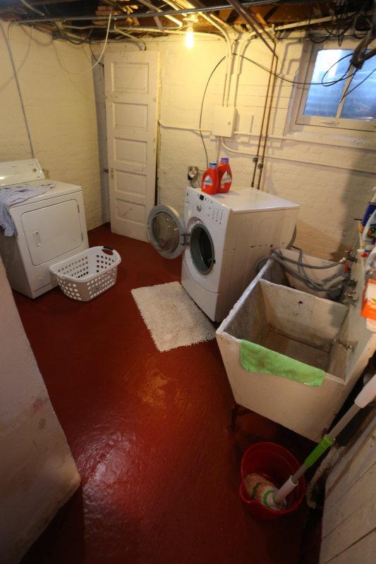 basement laundry room - needs help