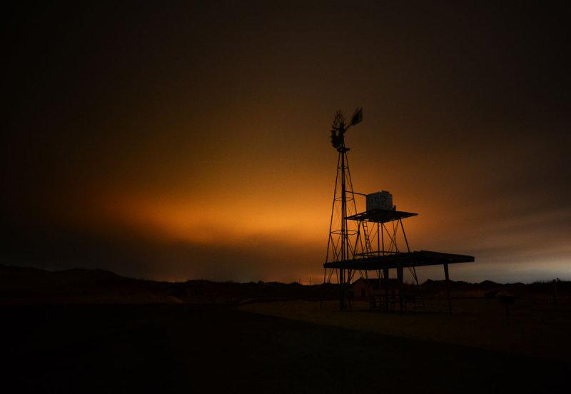 Windmill at Monahans