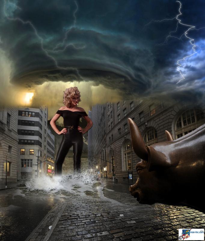 Sandy Occupies Wall Street