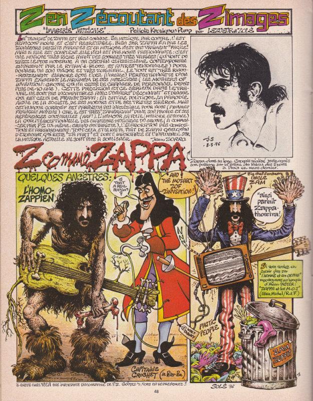 Zappa in Pilote I