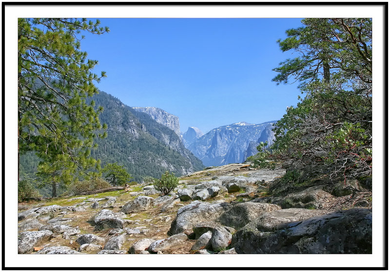 Yosemite Valley from Wawona Road