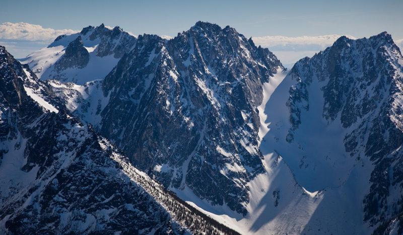 Dragontail Peak From The Northwest <br>(SE_040113_031-6.jpg)