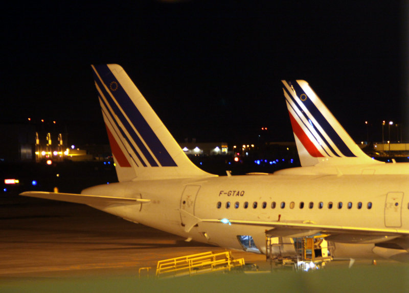 AF old and new livery