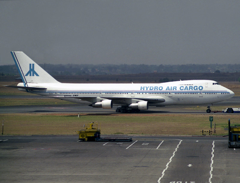 B747-200F  ZS-OOS