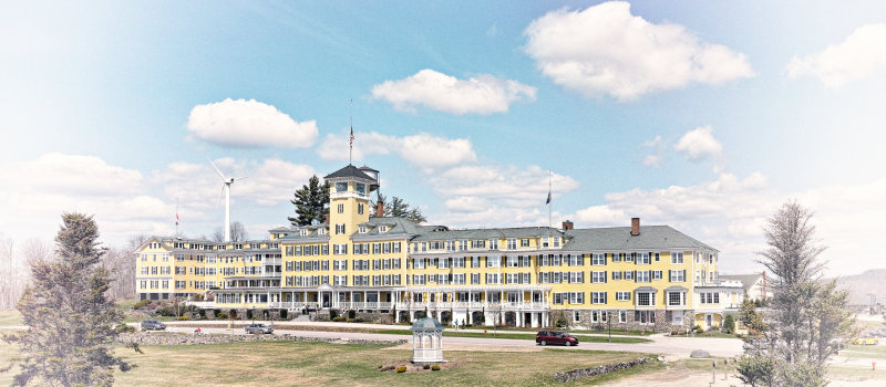 Mountain View Grand Hotel Vintage 2