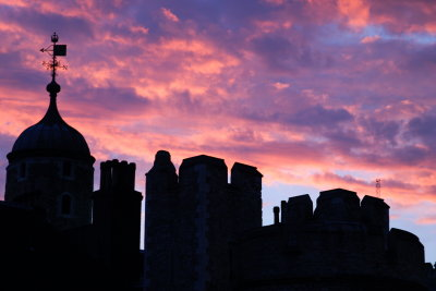 Sunset at Tower Hill