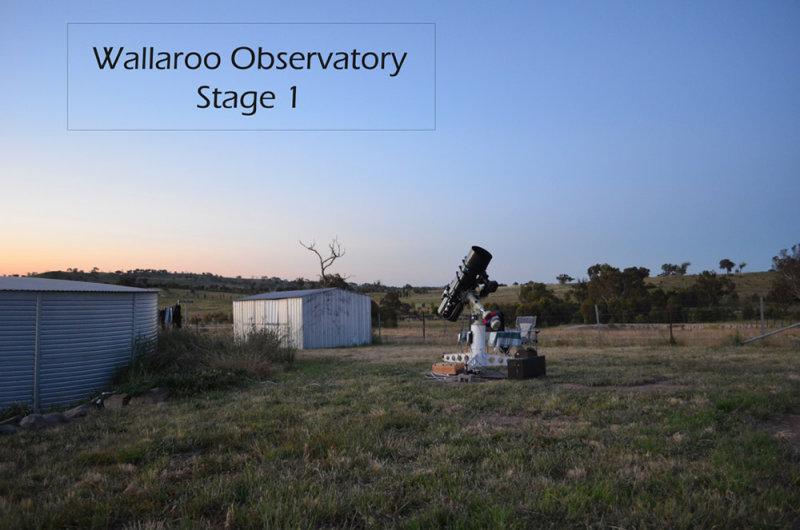 Wallaroo Observatory Stage 1 2012