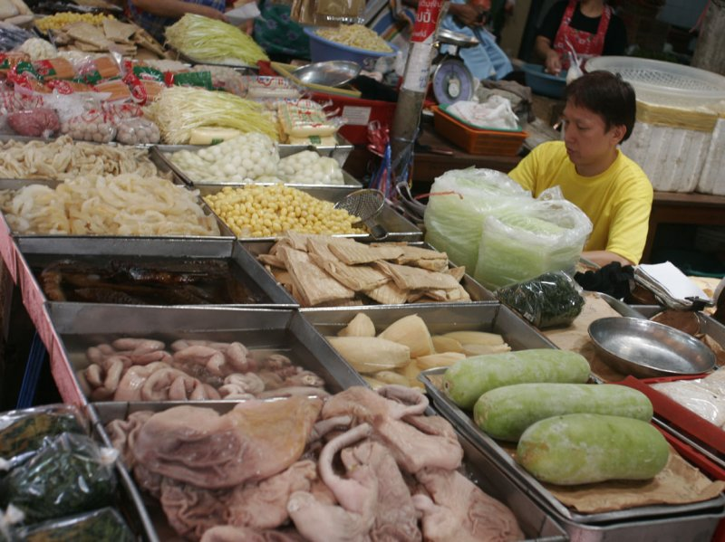 Chinatown - Trok itsaranuphap - produce market