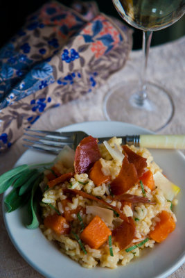 Sweet Potato and Sage Risotto