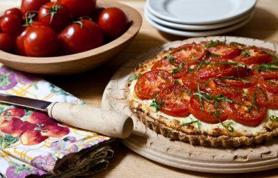 Italian Style Tomato Tart