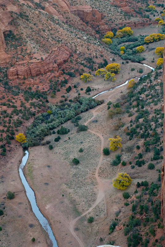 Canyon de Chelly, Chinle Wash