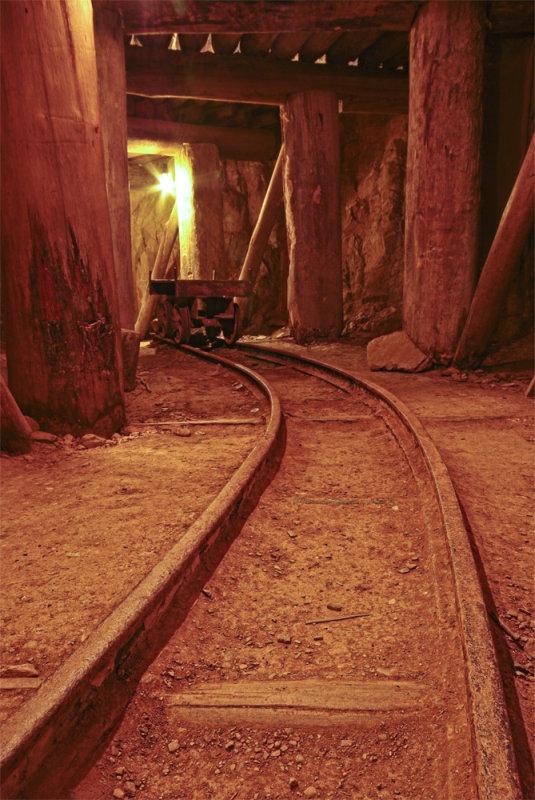 Miners Rail Line, Mogo Town N.S.W