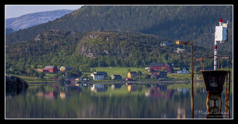 Village in a Fjord