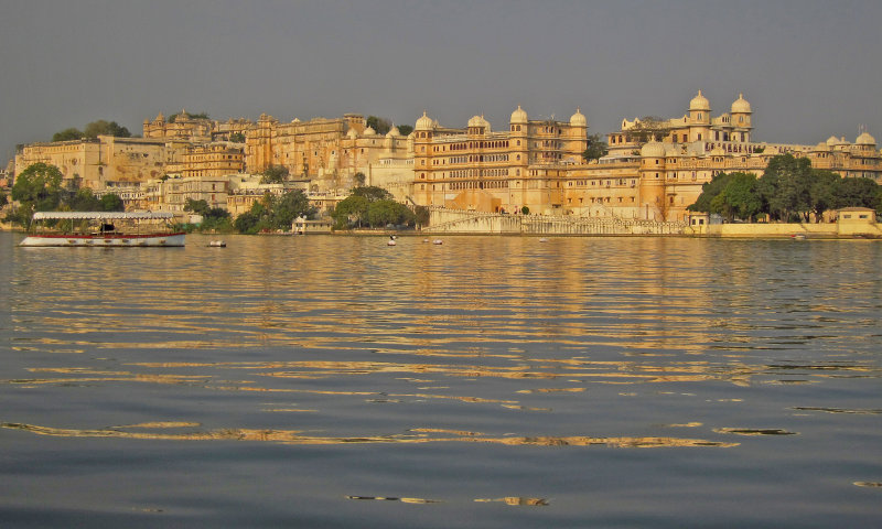 The City Palace, Udaipur.