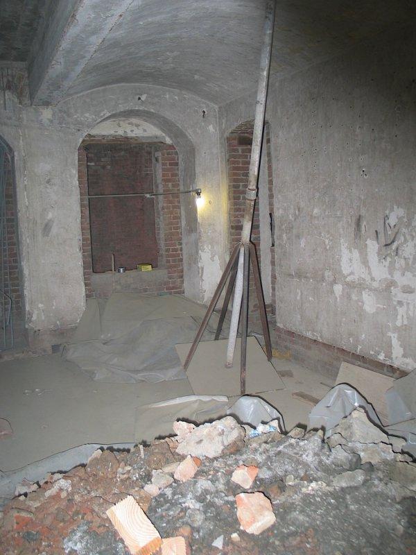Citadel room during rehab