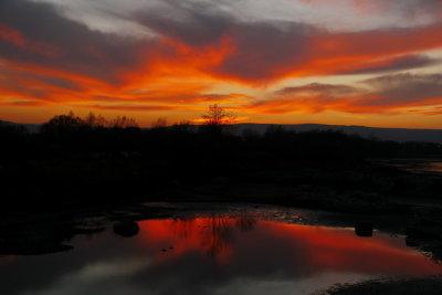Collingwood Harbour Sunset - Nov. 18, 2012