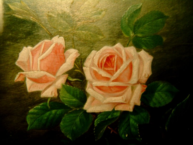 Crying Roses -by Dina Marie Thømming-In Memory of Peter Abraham Greve-Own by Jeanet Johansen