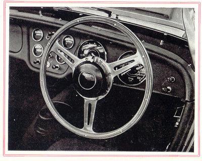 Original Derrington Steering Wheel