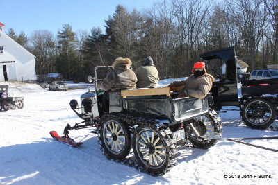 Model T Ford Snowmobile