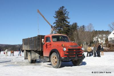 Loading 1948 Dodge Truck