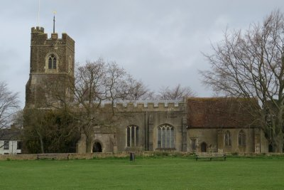 Harlington Church and Surroundings