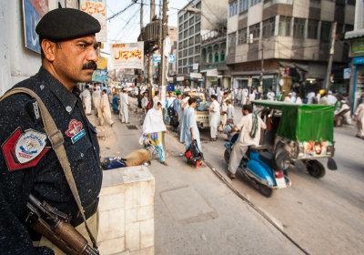 Policeman - Peshawar