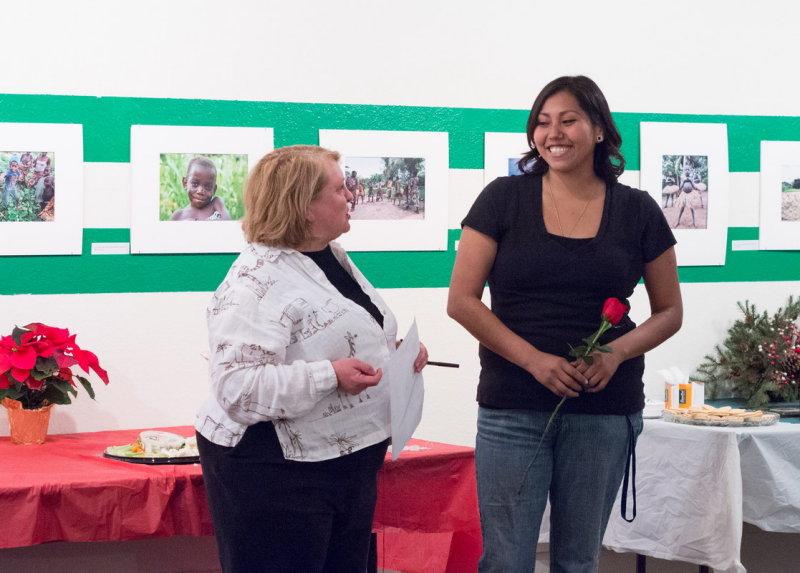 Dr. Miriam Chaiken and Stephanie Riley