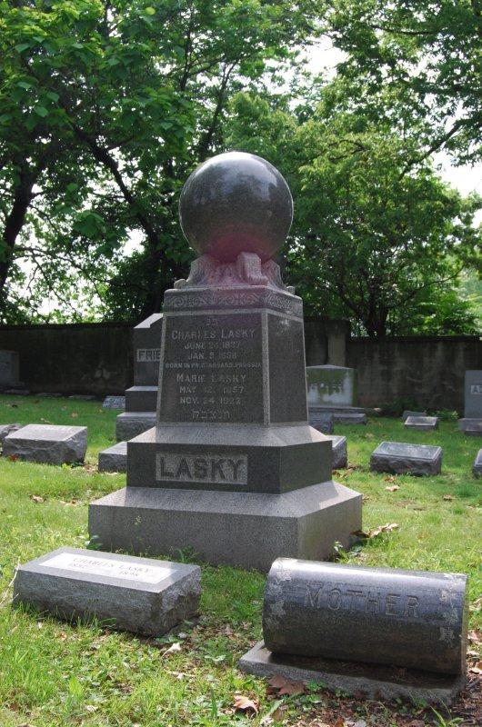 Lasky Family Monument